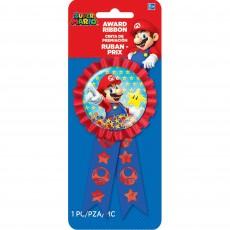 Super Mario Party Supplies - Super Mario Confetti Ribbon Award