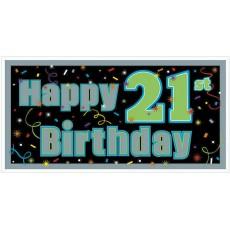 21st Birthday Giant Banner