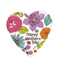 Mother's Day Beautiful Floral Shaped Balloon