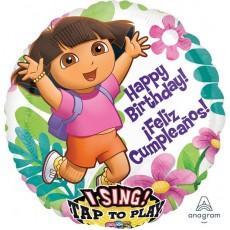 Dora the Explorer Party Decorations - Singing Balloon