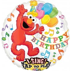 Sesame Street Elmo Sing-A-Tune Singing Balloon