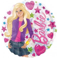 Barbie Standard Holographic Foil Balloon