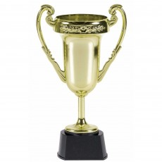 Gold Jumbo Trophy Cup Trophy 23cm x 13cm
