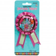 Hippie Chick Confetti Ribbon Award