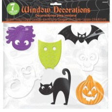 Halloween Party Supplies - Misc Decorations - Window Cling