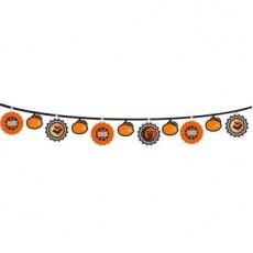 Halloween Party Supplies - Garlands - Modern Halloween Fan Banner