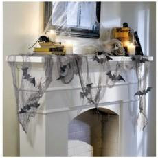 Halloween Party Supplies - Decorating Kits - Glitter Bat & Gauze