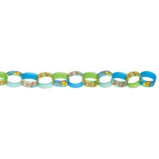 Boy One Wild Paper Link Garland