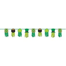 St Patrick's day Tissue Paper Garland