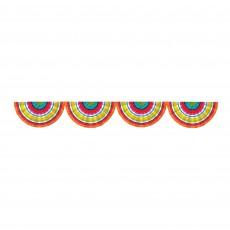 Mexican Fiesta Party Decorations - Garland Fiesta Serape Bunting