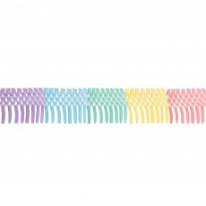 Pastel Party Party Decorations - Garland Pretty Pastels Accordion