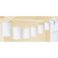 White Paper Lantern Garland
