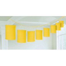 Yellow Garland Lantern