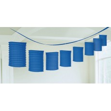 Blue Royal Garland Paper Lantern