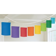 Rainbow Primary  Colours Paper Lantern