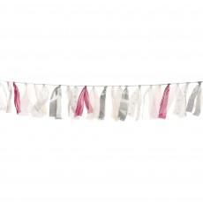 Iridescent Party Decorations - Garland Luminous Tulle Ribbon