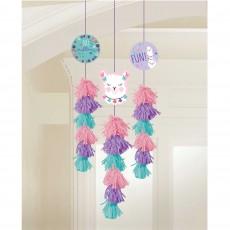 Llama Fun Dangle Hanging Decorations 1.9m Pack of 3