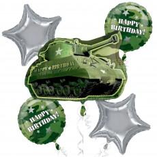 Camouflage Bouquet Foil Balloons