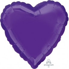 Purple Quartz Standard HX Shaped Balloon