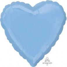 Blue Pastel Standard HX Shaped Balloon