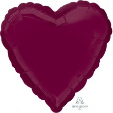 Red Berry Standard HX Shaped Balloon