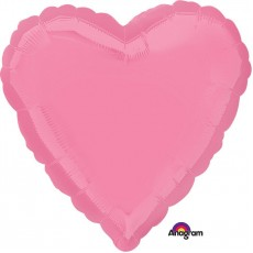 Love Bright Bubble Gum Pink Standard HX Shaped Balloon