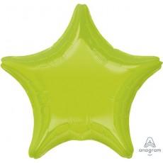 Green Kiwi Standard XL Shaped Balloon