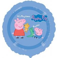 Peppa Pig Blue Standard HX Foil Balloon