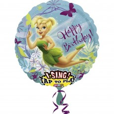 Disney Fairies Tinker Bell Sing-A-Tune Singing Balloon