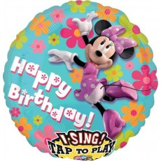Minnie Mouse Sing-A-Tune XL Singing Balloon