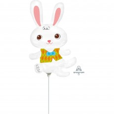 Easter Bunny & Vest Mini Shaped Balloon