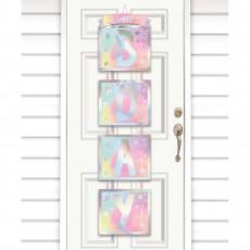 Iridescent Party Decorations - Door Decoration Luminous