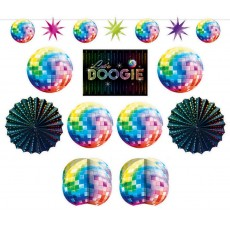 Disco & 70's Disco Fever Room Decorating Kit
