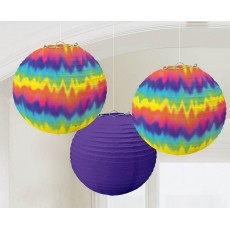 Feeling Groovy & 60's Round Paper Lanterns