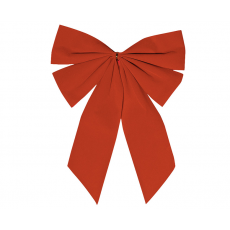 Christmas Red Small Gathered Bow Misc Decoration