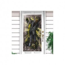 Halloween Zombie Door Decoration