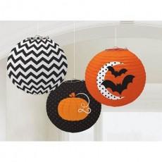 Halloween Modern Printed Lanterns