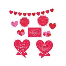 Valentine's Day Room Decorating Kit