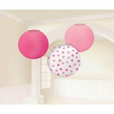 Tweet Baby Girl Garland Lanterns
