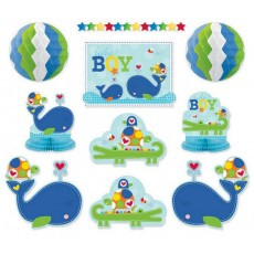 Ahoy Baby Boy Room Decorating Kit