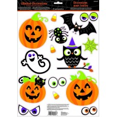 Halloween Party Supplies - Misc Decorations - Family Friendly Window