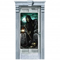 Halloween Cemetery Door Decoration