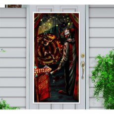 Halloween Side Show Door Decoration