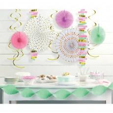 Pastel Celebration Room Decorating Kit