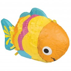 Hawaiian Luau Mini Fish Pinata Misc Decoration