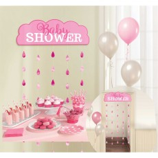 Baby Shower - General Pink  Door Decoration