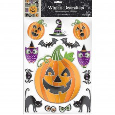 Halloween Embossed Window Misc Decoration