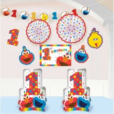Elmo Turns One Room Decorating Kit