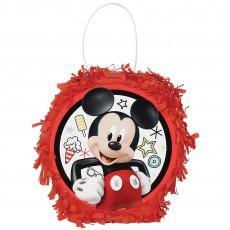 Mickey Mouse On The Go Mini Pinata Favour Box 15cm