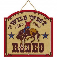 Cowboy & Western Deluxe MDF Sign Misc Decoration